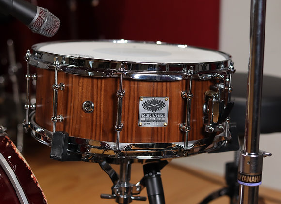 """036 - 14""""x6"""" - Black Walnut Stave Snare Drum"""