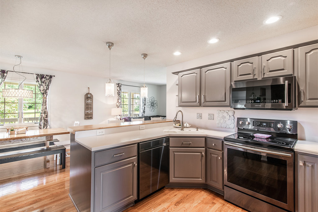 Kitchen to Dining