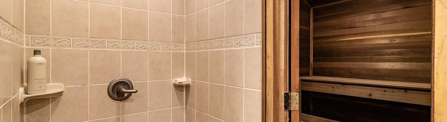 Sauna & Shower
