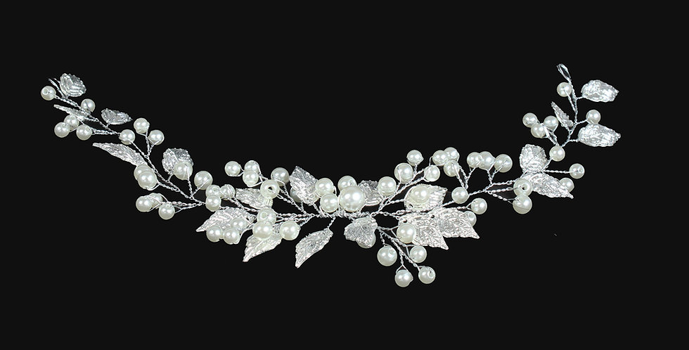 #weddinghairvine #bridalhairvine #pearlhairvine #crystalhairvine #hairvinecaps #goldhairvine #Hochzeitshaar #Haarrebe #cheveu