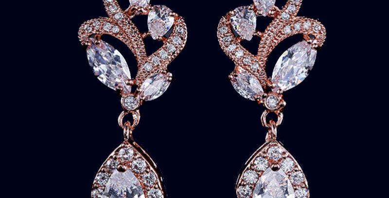 #Hochzeitsohrringe #orecchini da sposa #pendientes de boda #boucles d'oreilles de marriage #свадеб