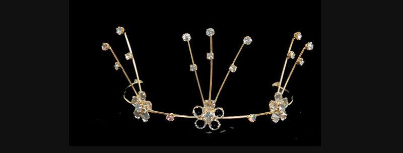 wedding tiara comb for children