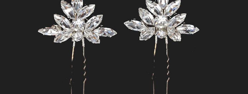 wedding crystal hairpin