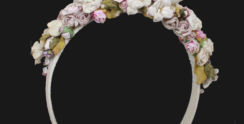 Florrie childrens wedding Headdress