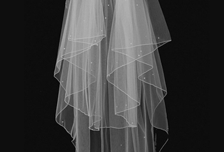 Talin wedding veil 2 tier
