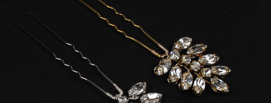 crystal hairpins for weddings