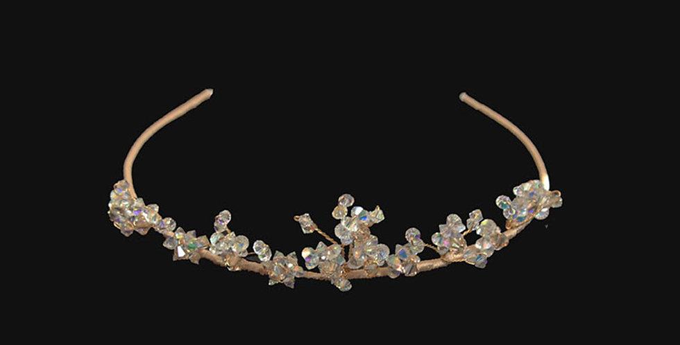 #childrensheaddresses #tiarsforchildren #flowergirlheadbands #flowergirlheaddresses #floralheaddresses #bridesm crystal tiara