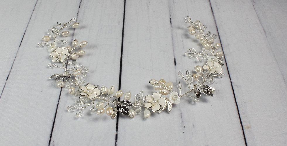 wedding hair vine