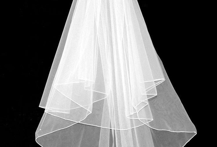Viola 2 tier veil