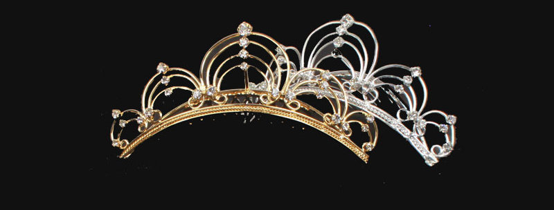 arch tiara comb comb