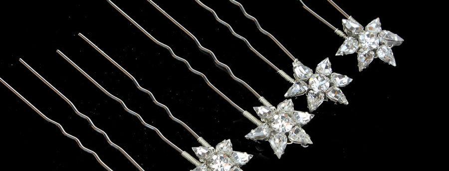 wedding hairpins for brides