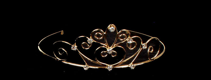 small wedding tiara for children