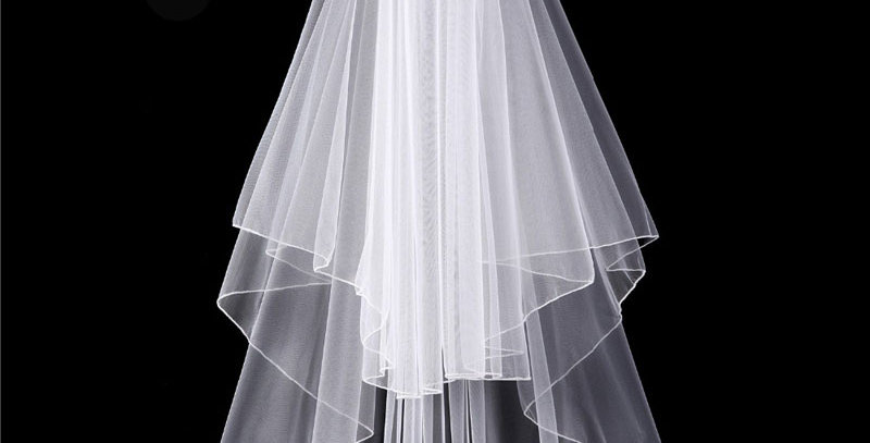 Viola wedding veil