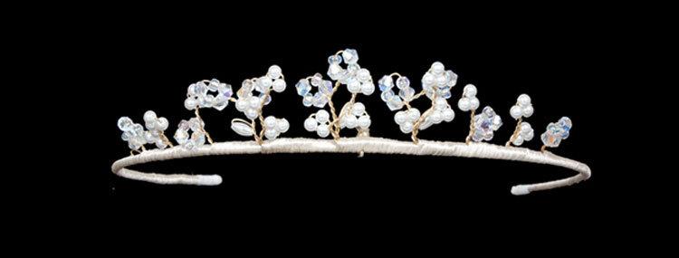 Pandora childs wedding tiara