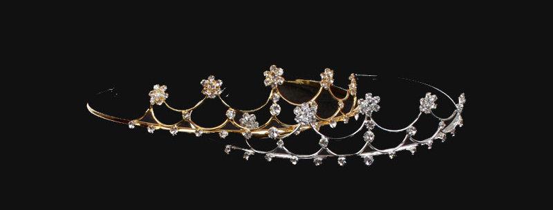 diamante daisy tiara