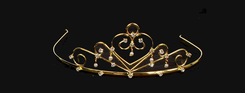 peearl drop tiara