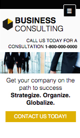 Consulting & Coaching website templates –  Business Consulting