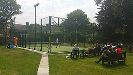 Padel court hire London
