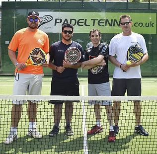 Padel Tennis coach london