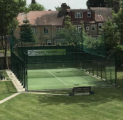 Book Hazelwood padel court London