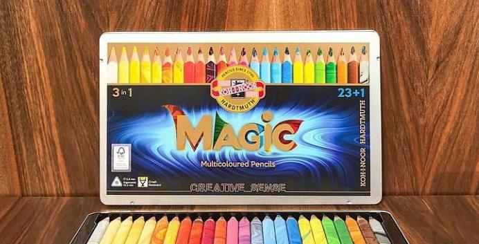 Set de lapices MAGIC