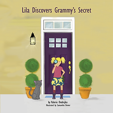 Lila Discovers Grammy Secret Front Cover