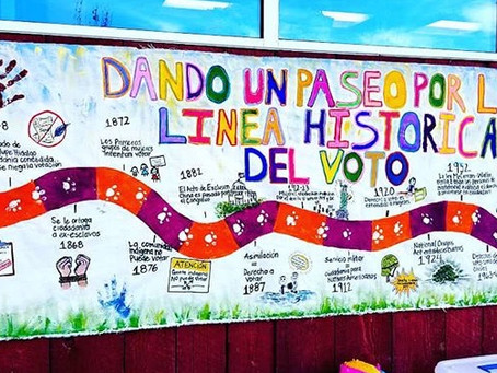 """A look at civic history: """"Voting Rights Timeline"""""""