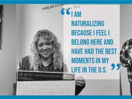 Naturalize NOW! Receive free Citizenship application  assistance at Comunidades Unidas