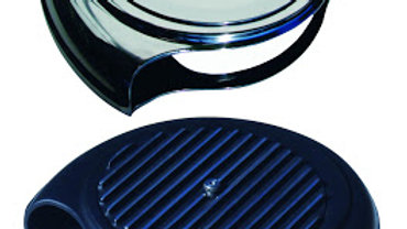 Batwing Air Cleaner, FInned or Smooth