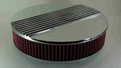 "14 3/8"" Round ALuminum Air Filter"