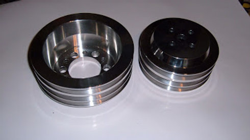 billet pulley set.  made in usa