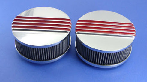 "6 7/16"" Cast Aluminum Finned Air Cleaner"