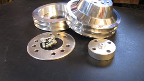 billet pulleys for 322/264