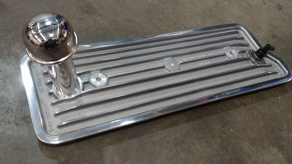 kring polished loaded valley pan