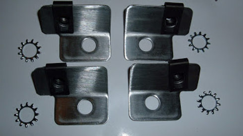 Special Brackets to install Plug Covers 1957-1966 364-401-425