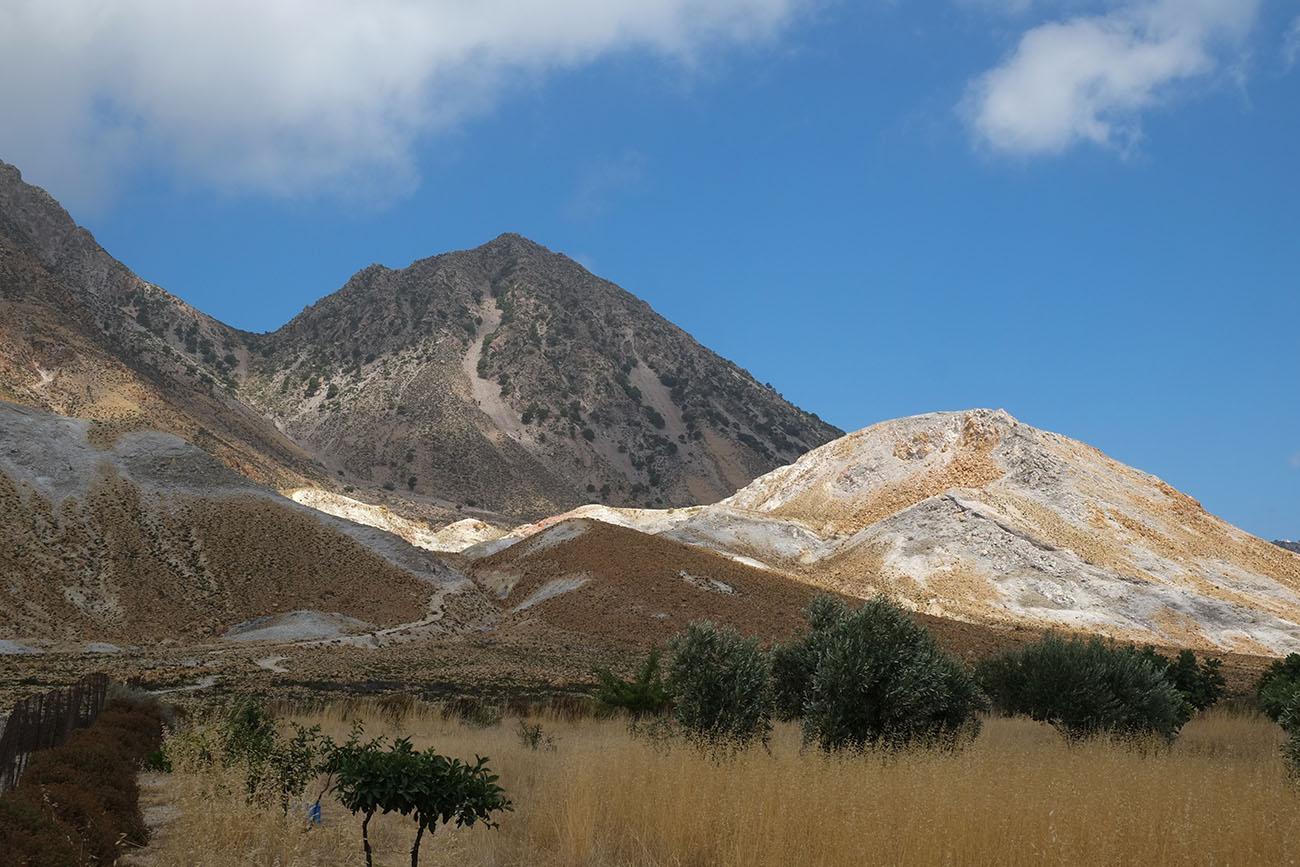 Nisyros the volcanic island