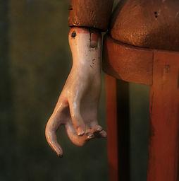 A doll hand