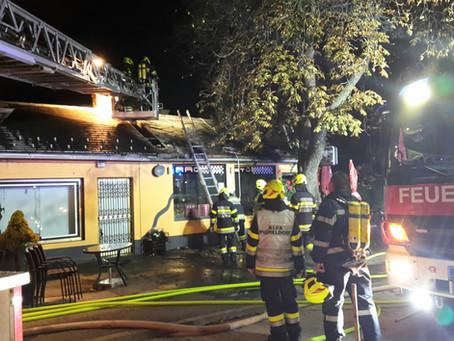 Brandeinsatz in Bruck