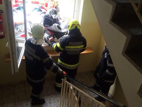 74-jährige Person nach Brand gerettet