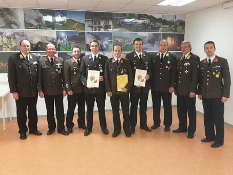 Ehrungen & Auszeichnungen beim Kommandantentag