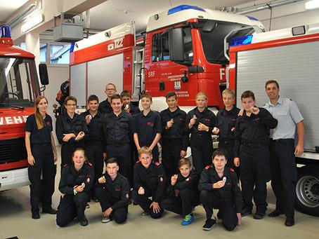 Stolz auf unsere Feuerwehrjugend