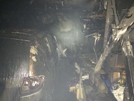 Kellerbrand in der Matzlstrasse