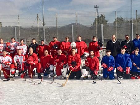 Sieg beim Abschnittseishockey