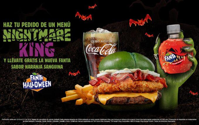 Burger King - Nightmare King (Insertada en banner publicitario)