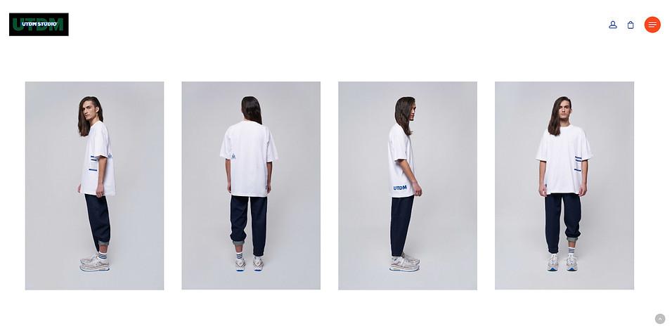 UTDM Studio - Lookbook Web