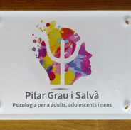 Pilar Grau Psico ròtul paret