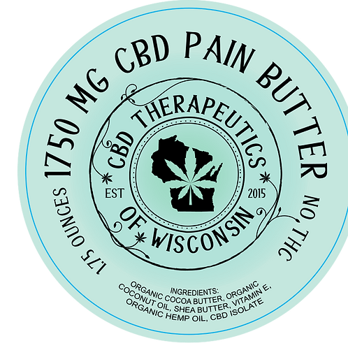 1750mg CBD Pain Butter