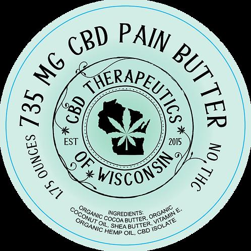735mg CBD Pain Butter