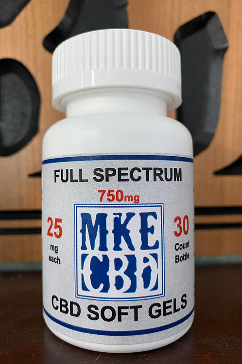 Full Spectrum CBD Soft Gels