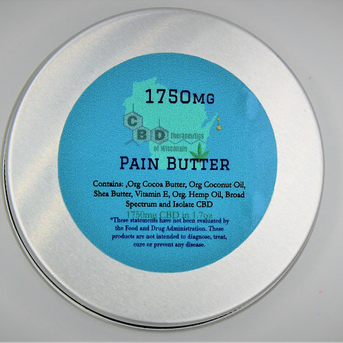 1750mg Pain Butter